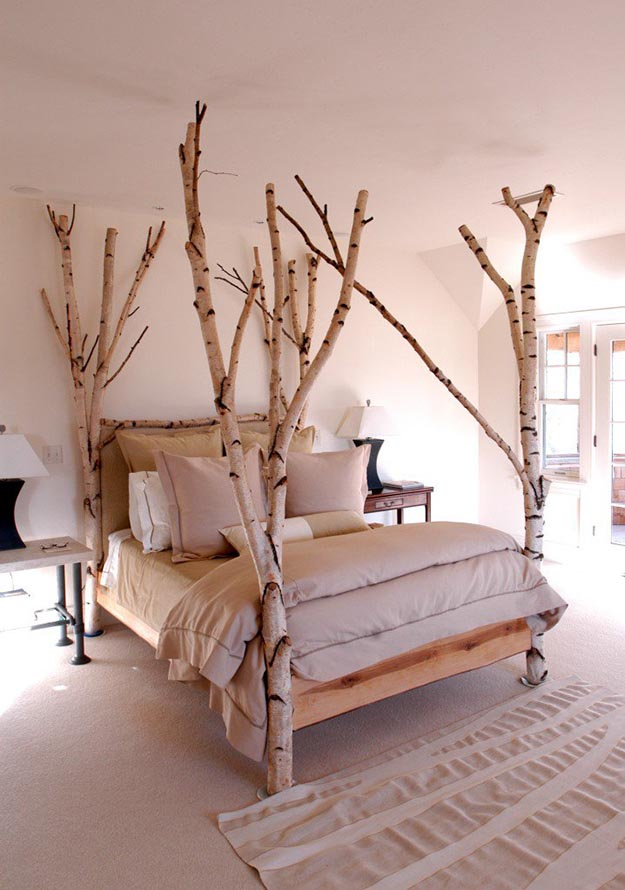 Birch Trees Bring Nature to Your Living Room