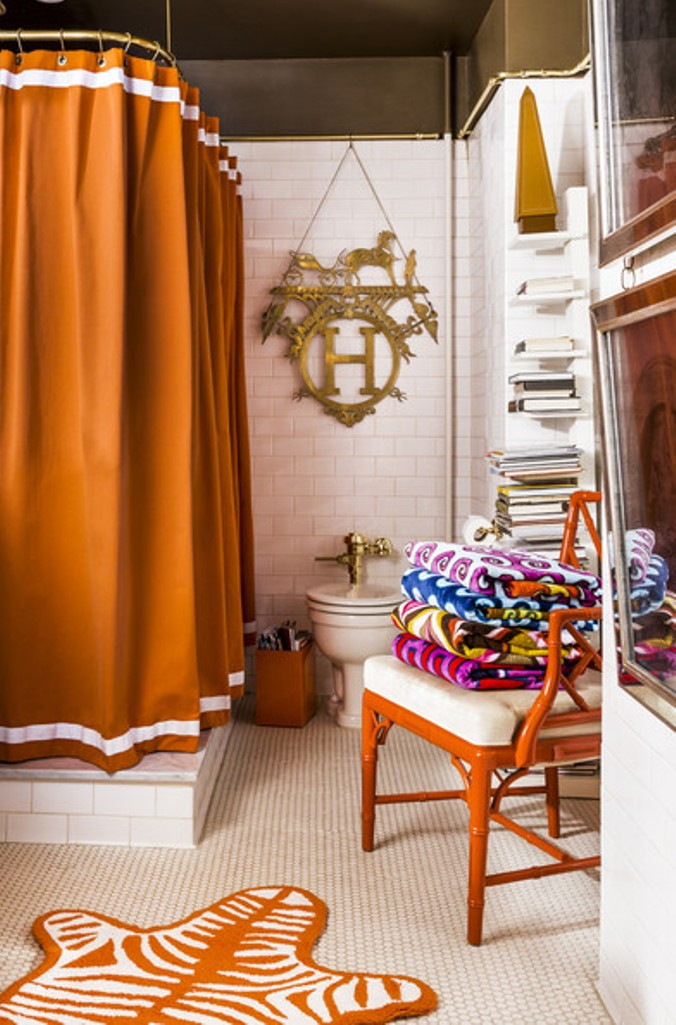 Chic Eclectic Bathroom