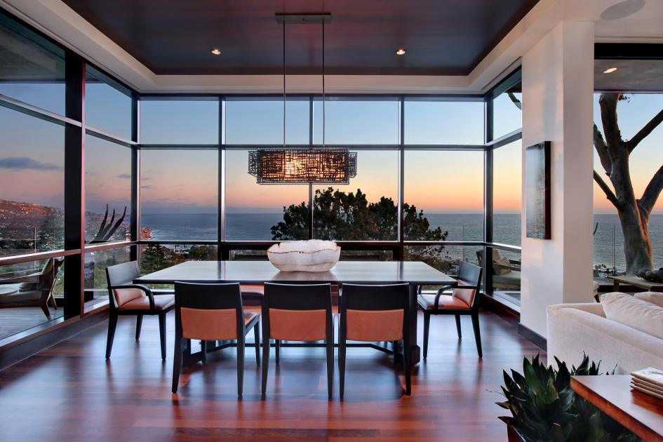 Contemporary Coastal Style Dining Room