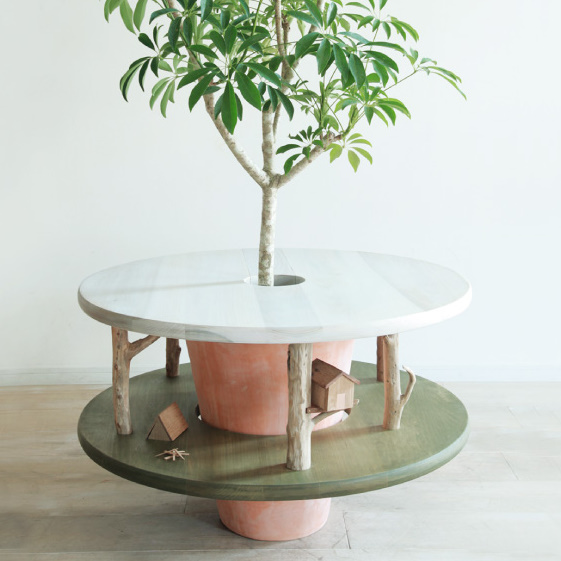 En-gi green furniture by mono goen