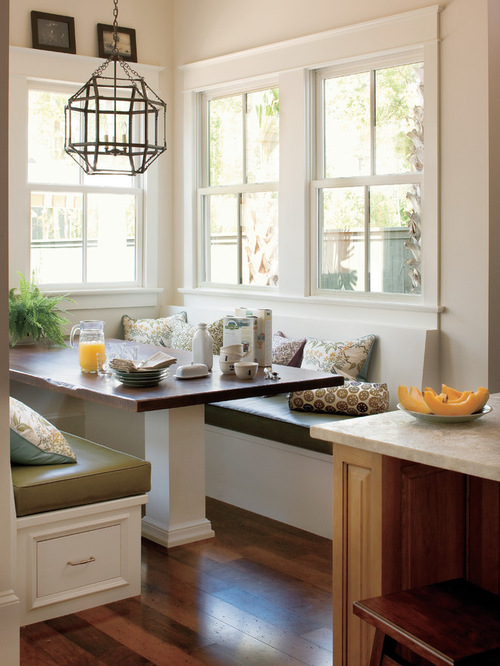 Traditional kitchen Nook Home Design