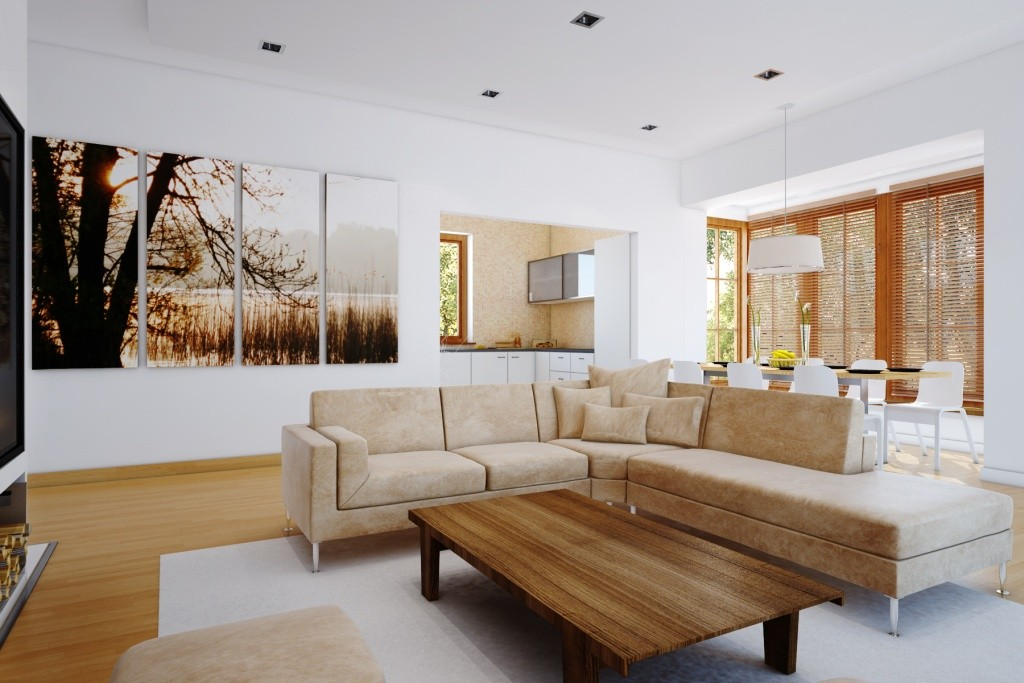 marvelous-Wooden-Table-And-White-Ceiling-Ideas