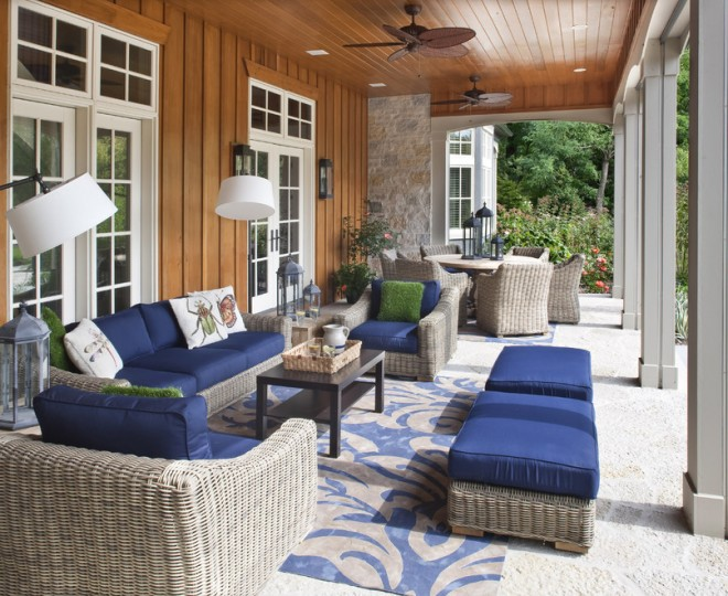 Beach Style Porch Remodeling ideas