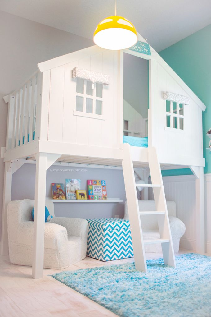 Beautiful indoor cubby house beach style for kids