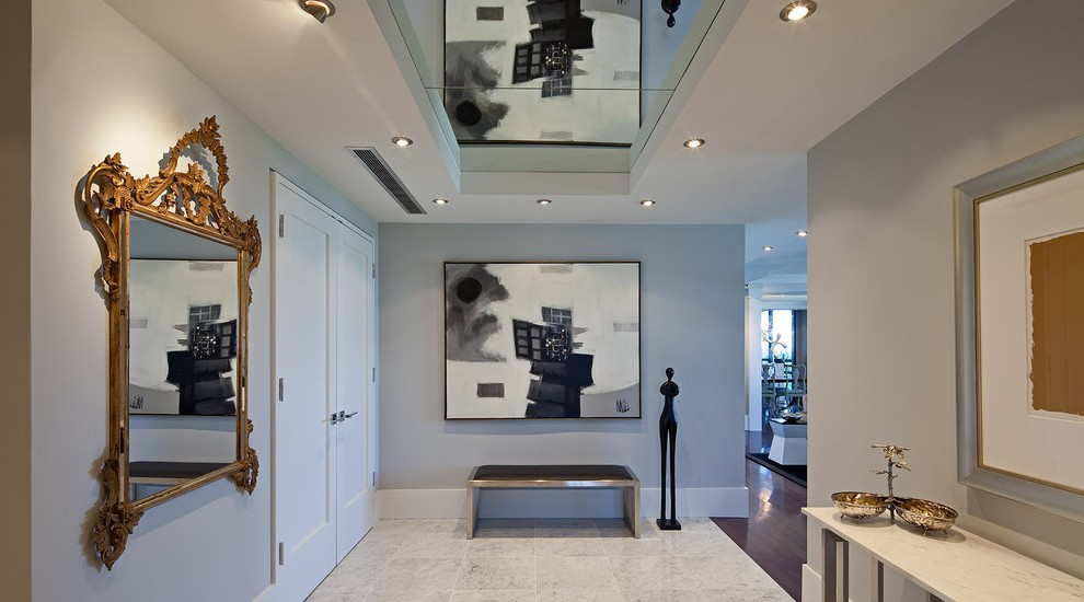 Contemporary Foyer Lighting Ideas