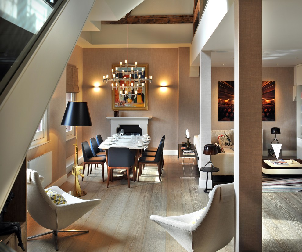 Dining Room Contemporary with Dining Room Table