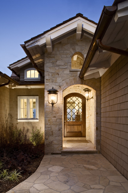 Exterior entryway contemporary entry