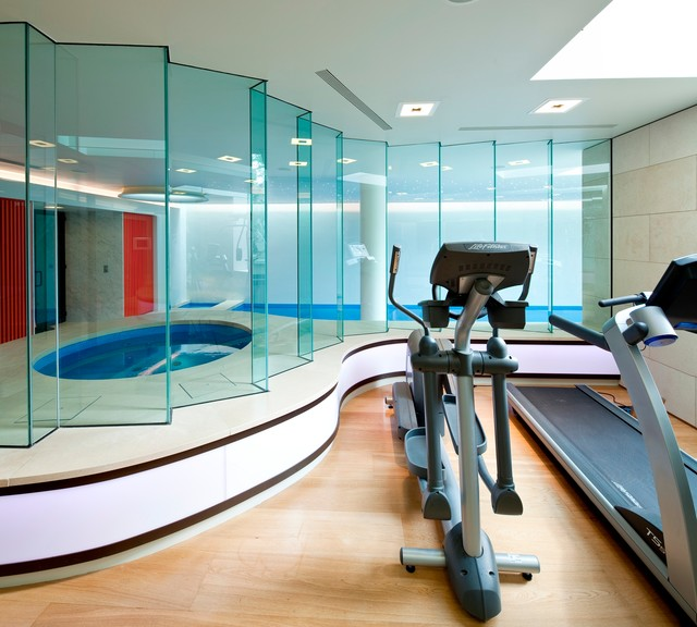 London modern-home-gym