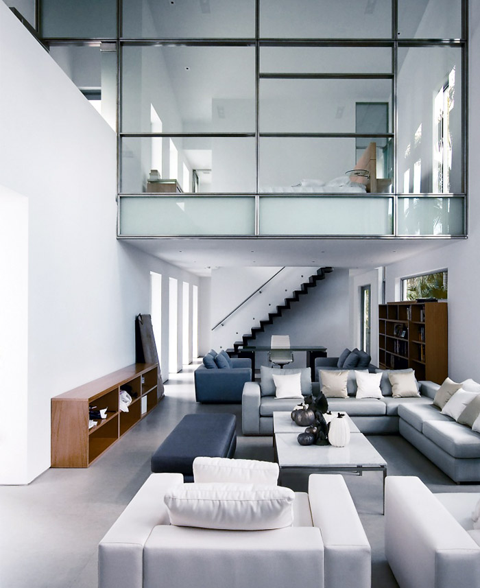Modern urban living room
