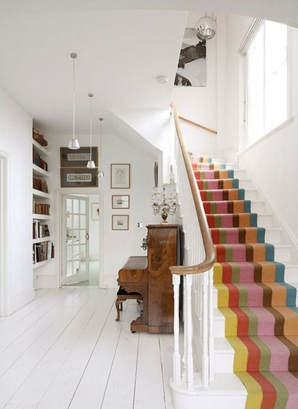 a simple way of adding color and dynamism to a décor