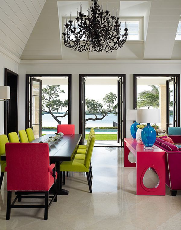 neon-furniture-for-dining-room