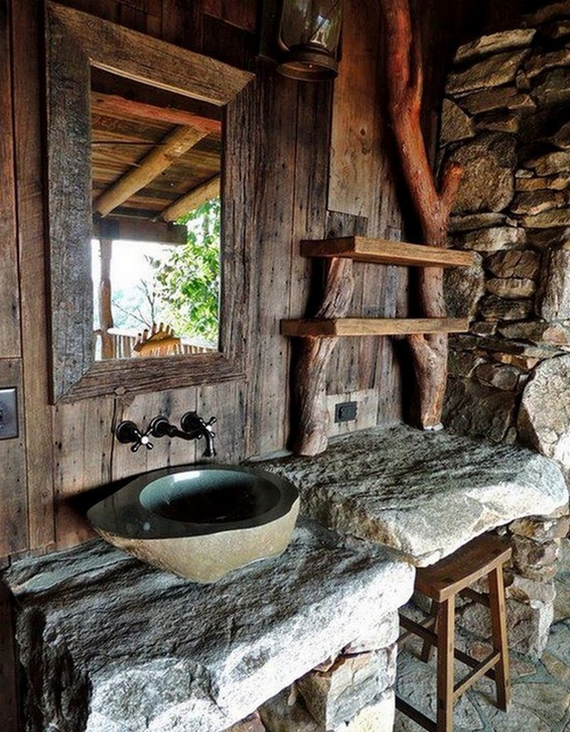 Amazing Rustic Bathroom Designs