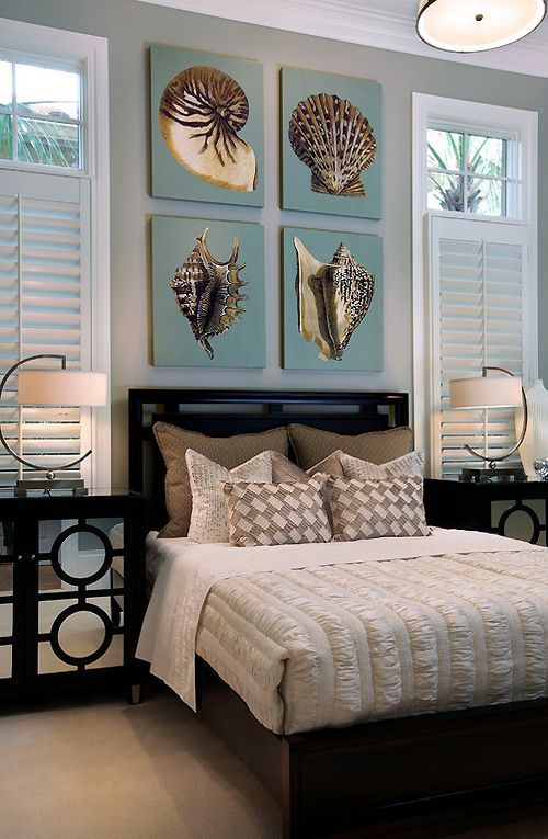 Beach Bedroom Decor
