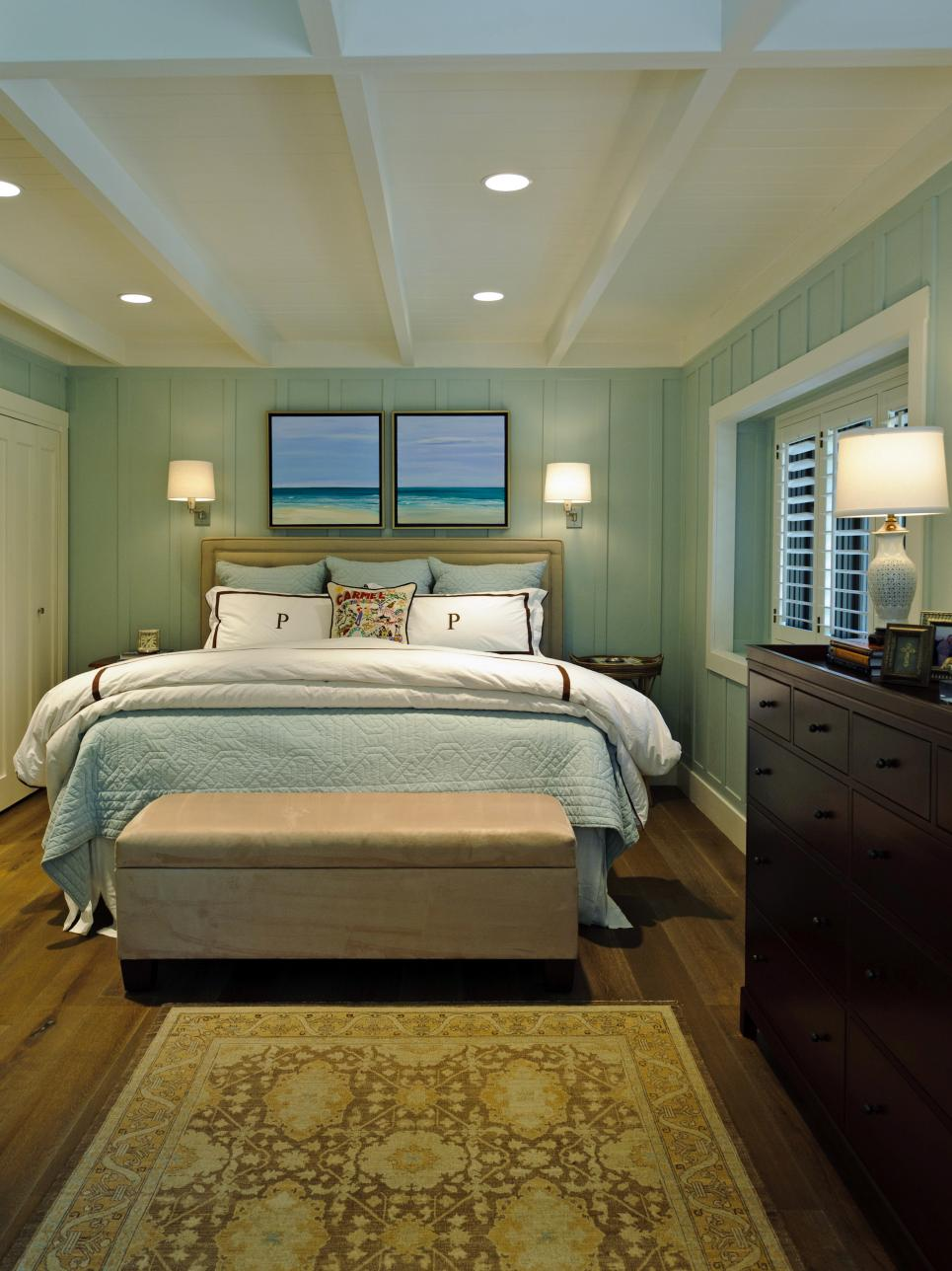 Coastal-Inspired Bedrooms