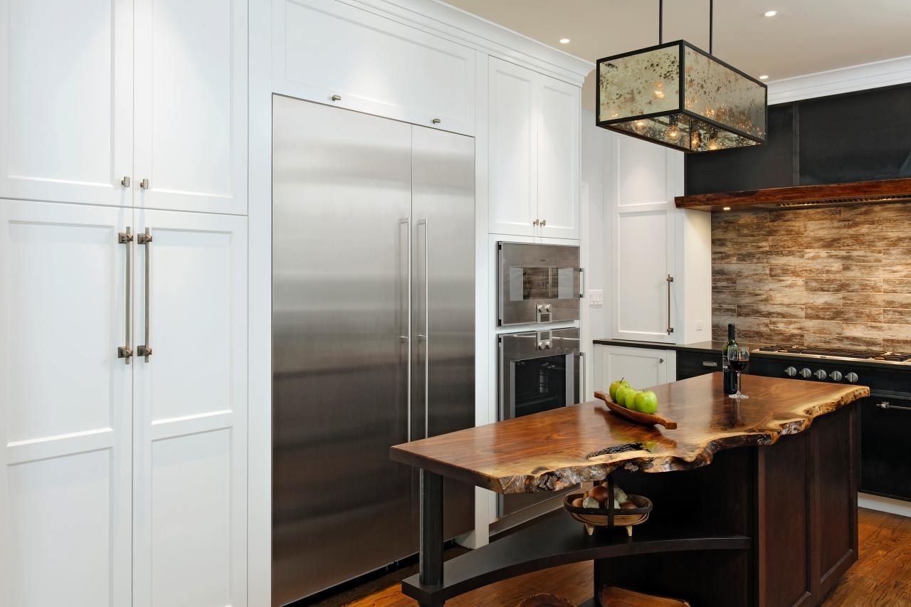 Contemporary Neutral Kitchen With Island