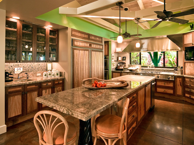 Cottage Style tropical-kitchen