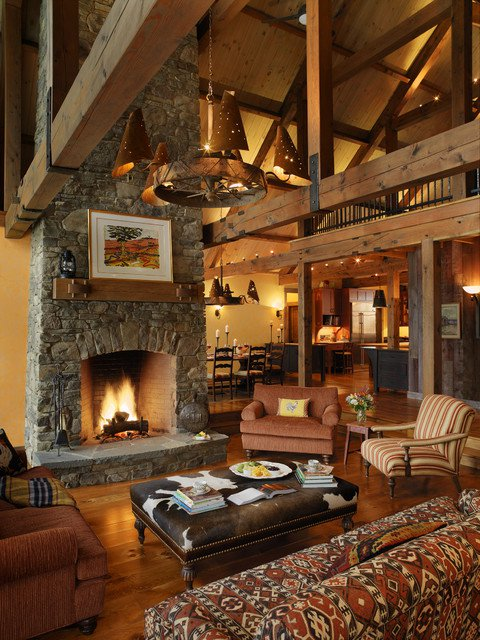 Cozy Rustic Living Room Design Ideas