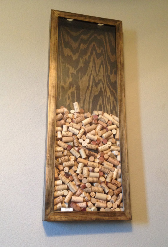 Diy Wine Cork Wall Display