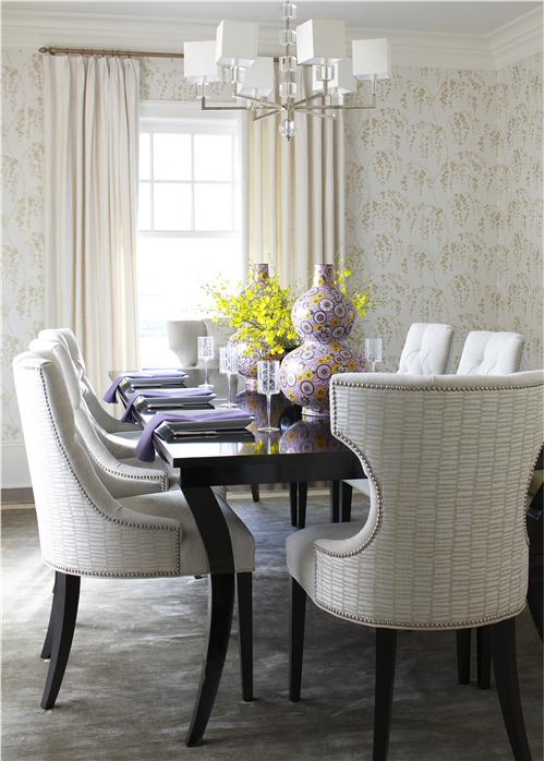 Elegant Contemporary Dining Room
