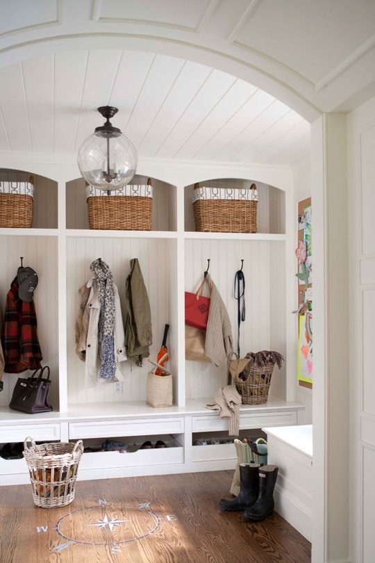 Elements of a Perfect Mudroom