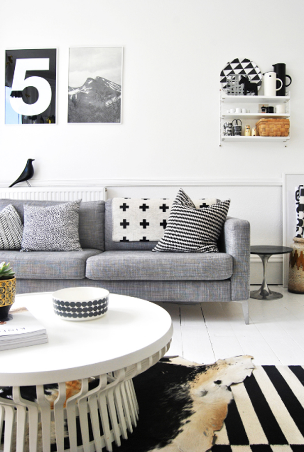 Inspiring White Living Room