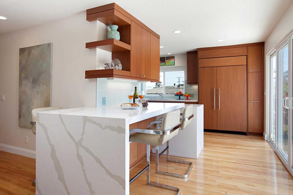 Midcentury Modern Kitchen Bar