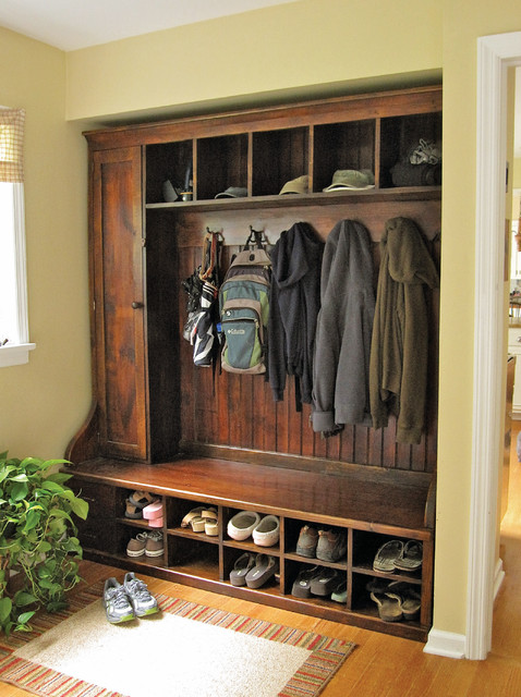 Mudroom Rack