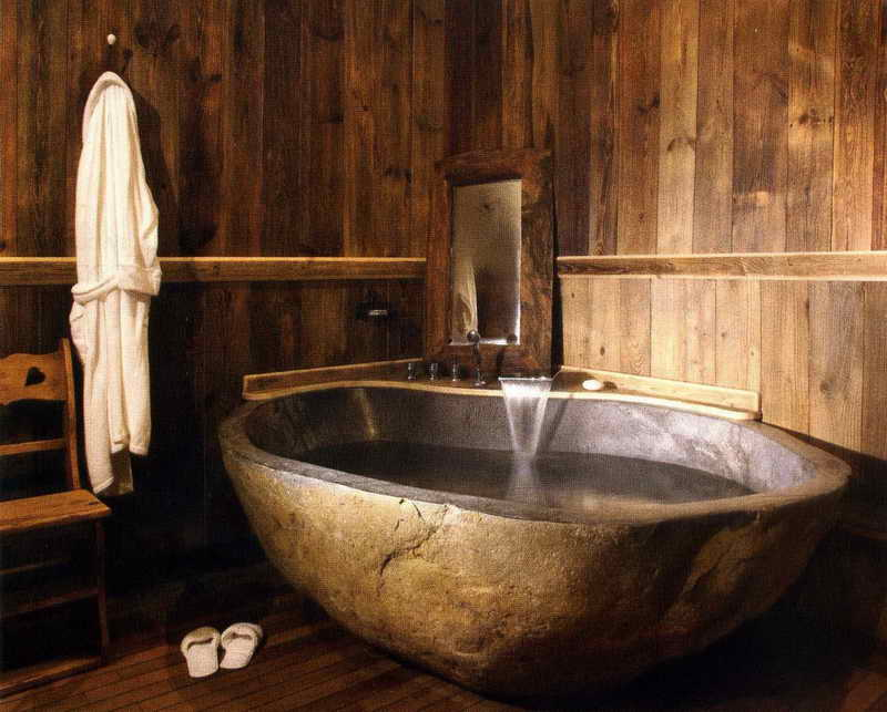 Rustic Bathroom Designs Filled With Coziness