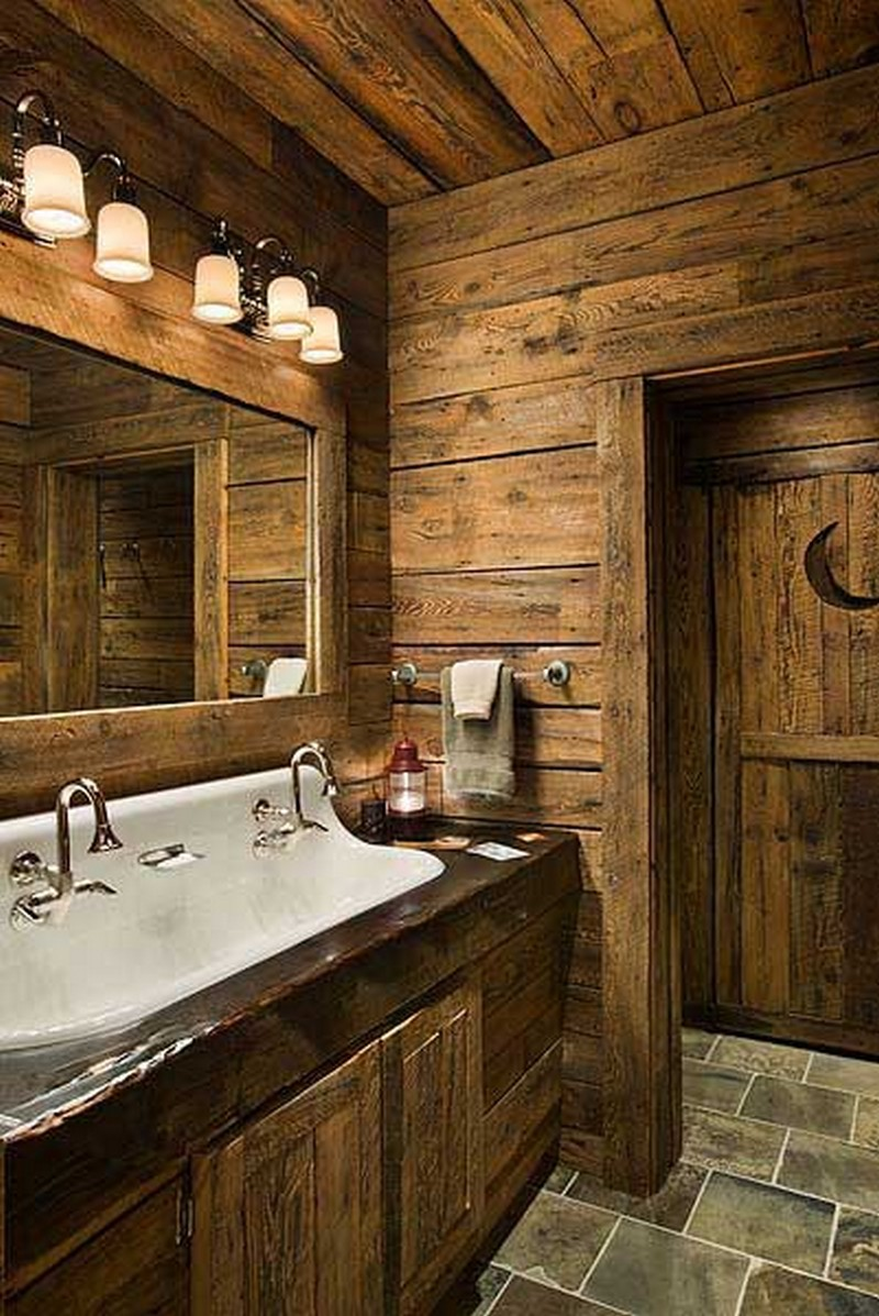 Rustic-Bathrooms