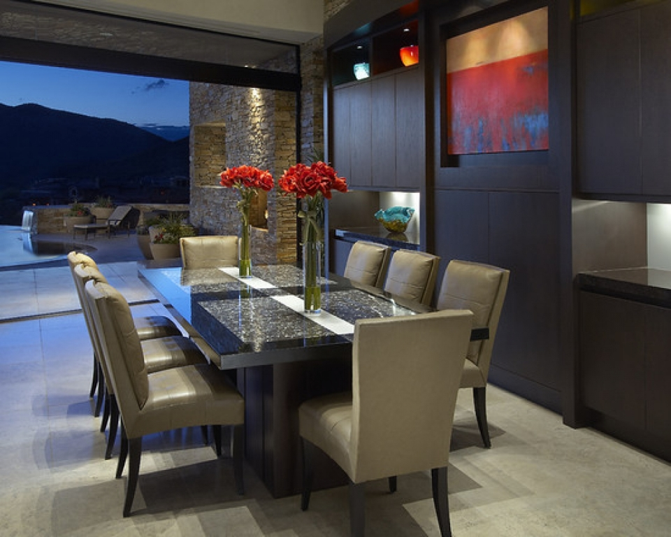 Small Contemporary Dining Room Ideas