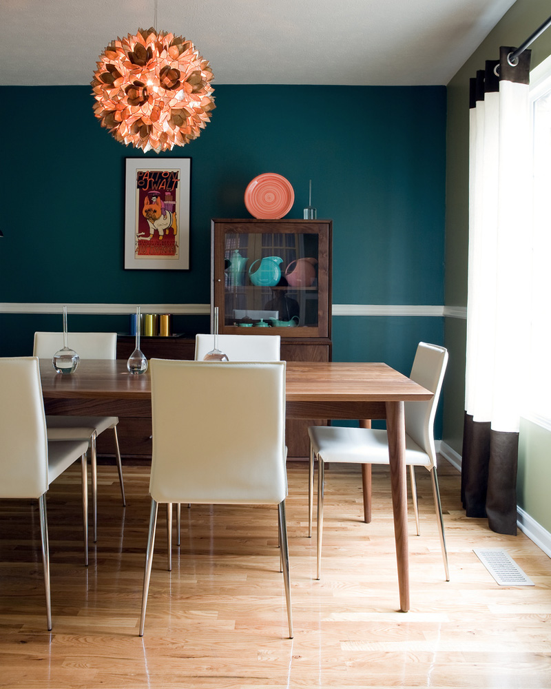 The Contemporary Dining Room Decor