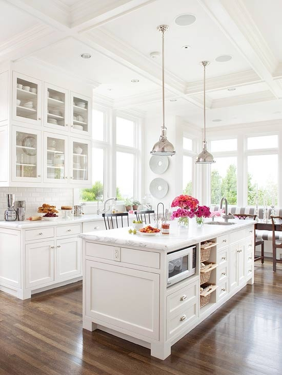White Kitchen in the Farmhouse Look