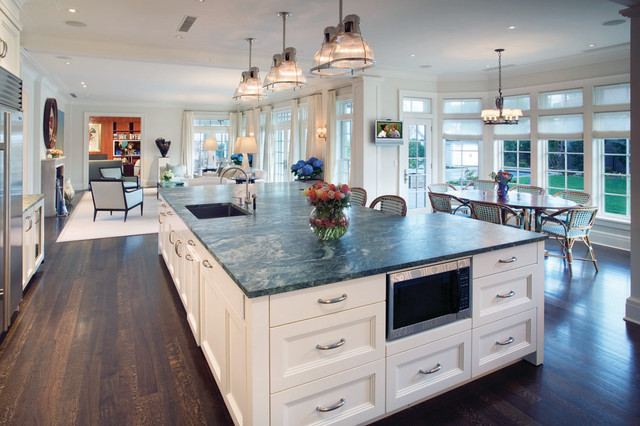 contemporary-Large Kitchen Island