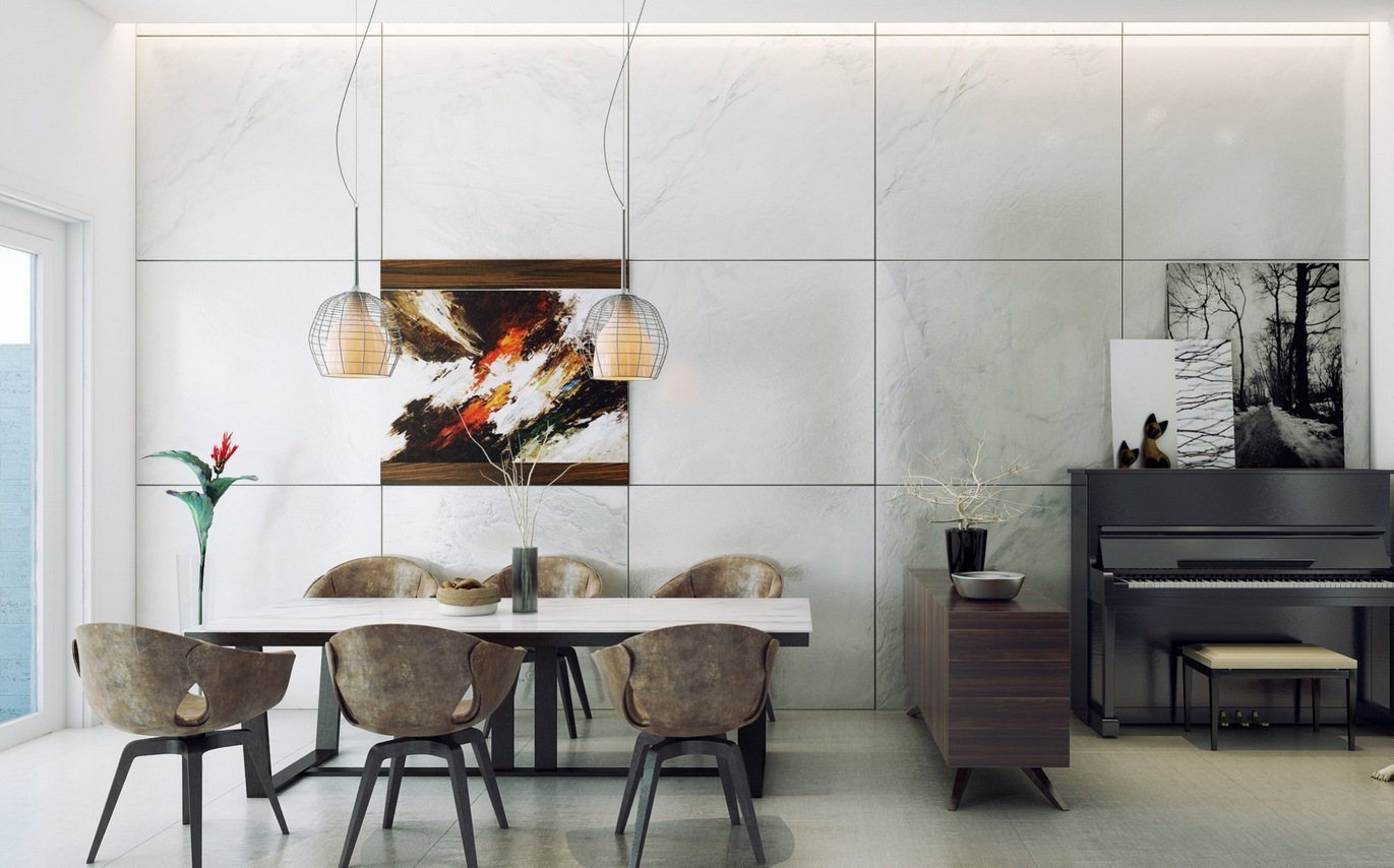 contemporary-dining-room-decor design