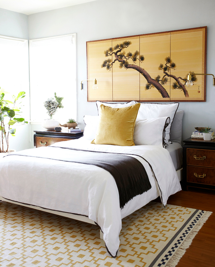 modern-glamour-apartment-bedroom-asian-yellow-wood