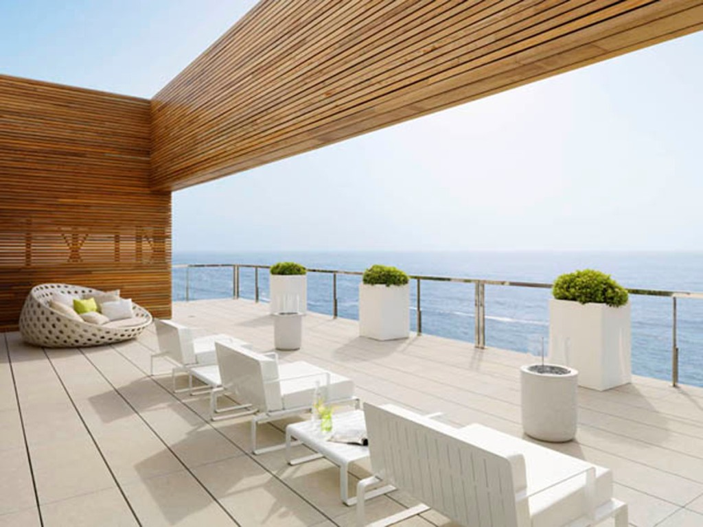 modern outdoor patio design Cost