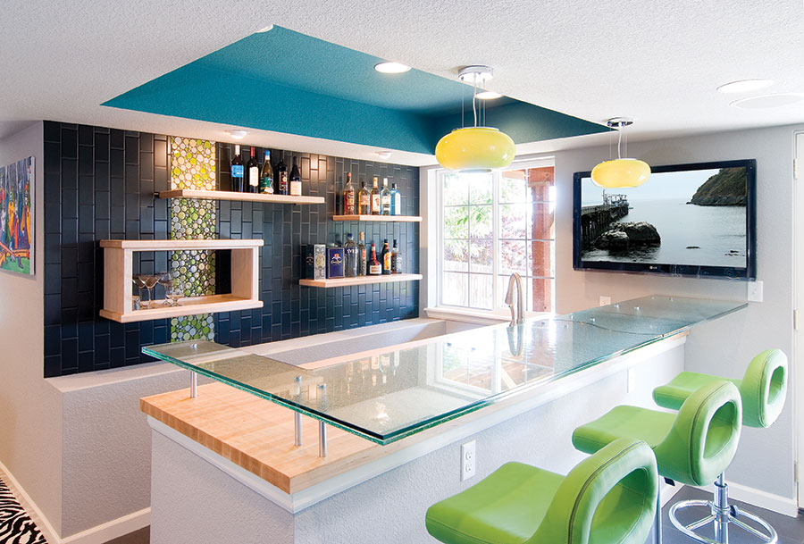 Basement-Modern-Bar