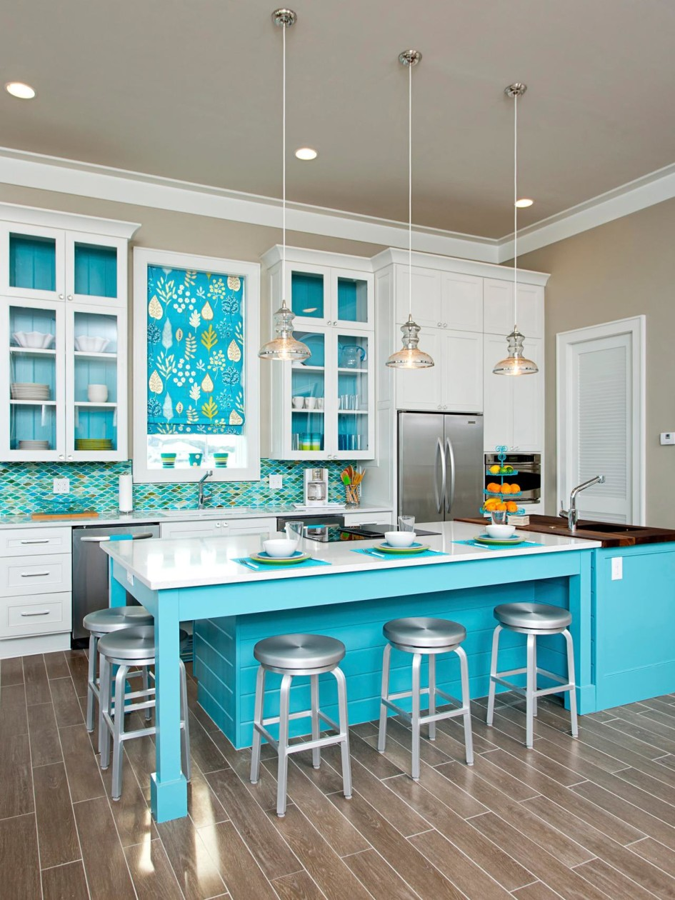 Beach Themed Kitchen Design