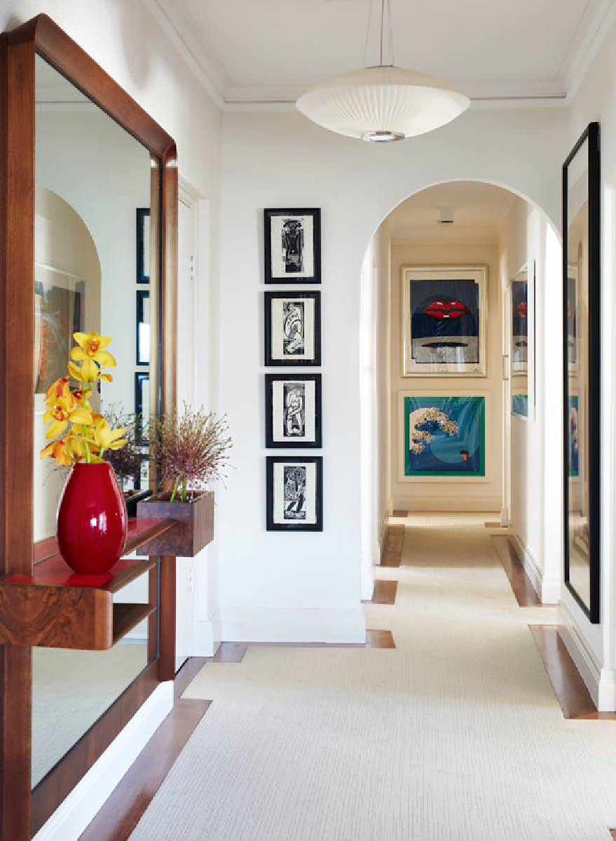 Beauteous Modern Design Entryway