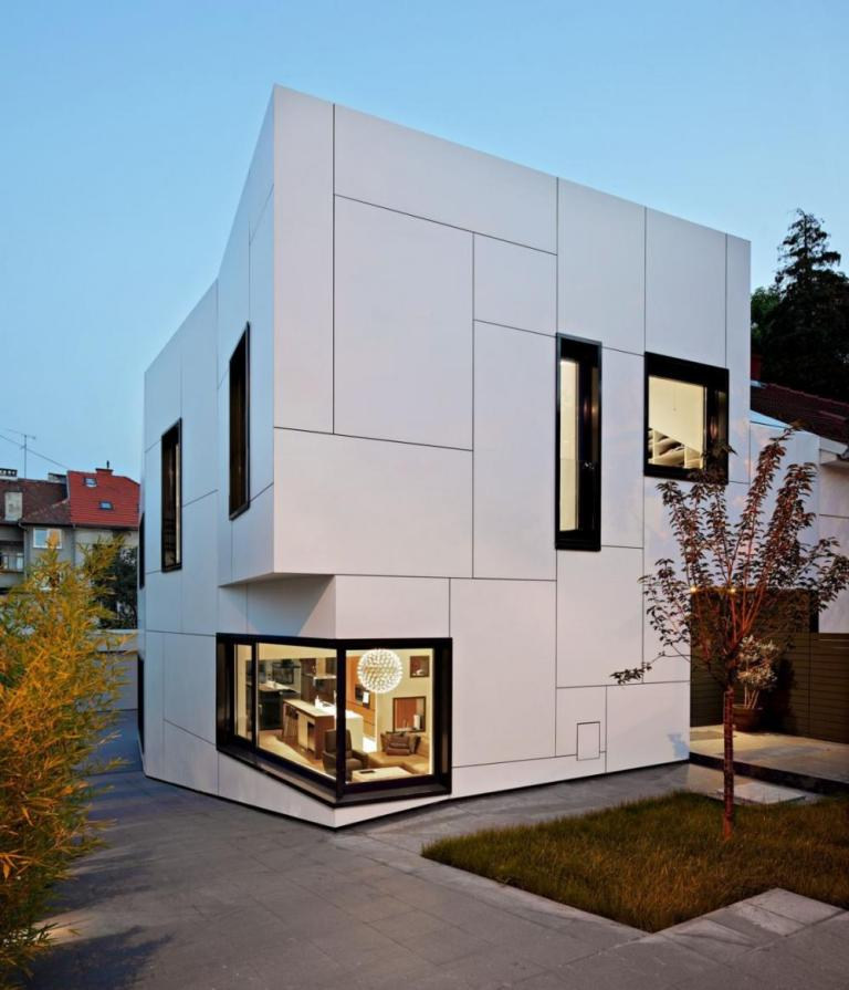 Contemporary-White-Exterior