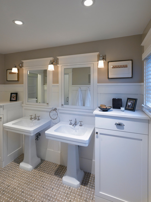 Craftsman Bathroom Home Design Ideas