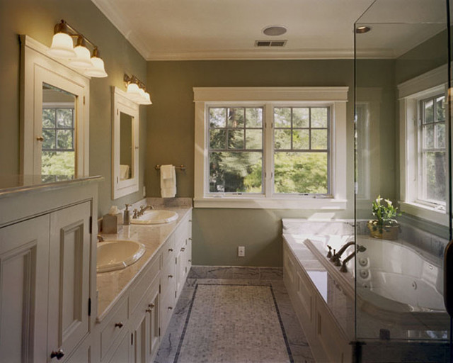 Custom Craftsman craftsman-bathroom