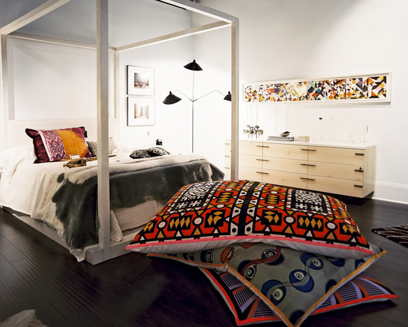 Eclectic Bedroom Photos