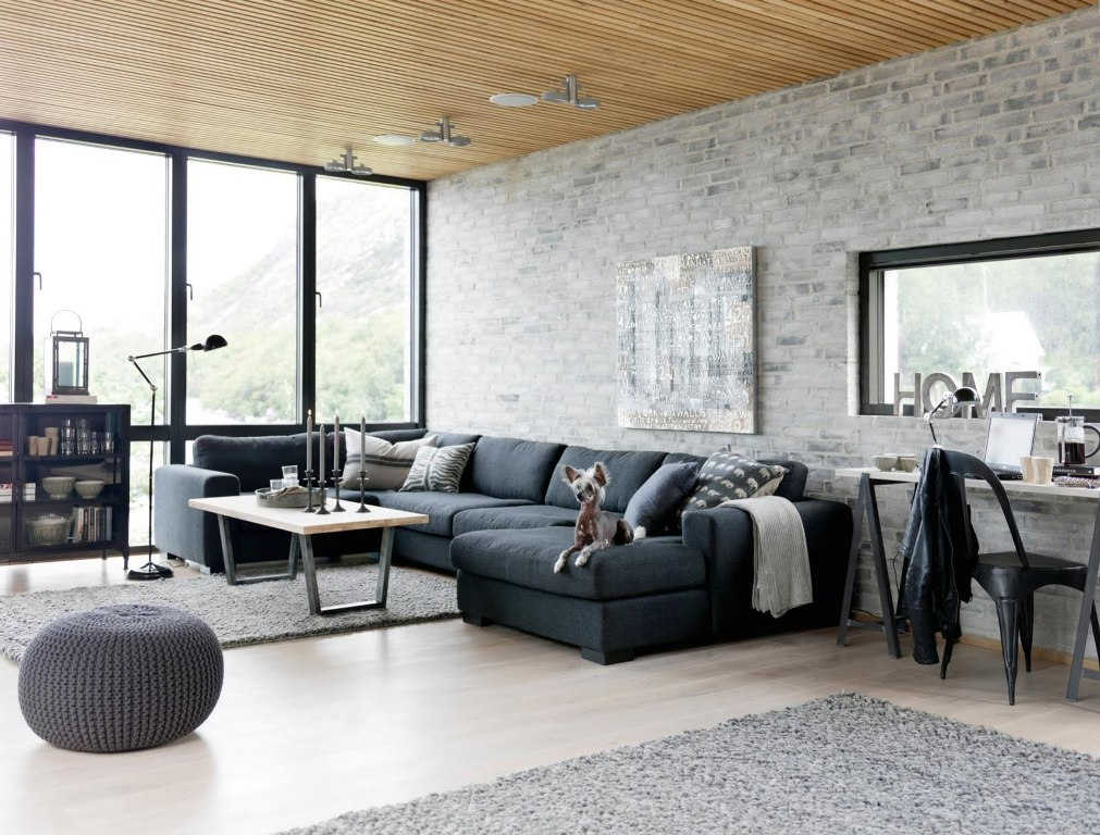 Exquisite-Industrial Living room