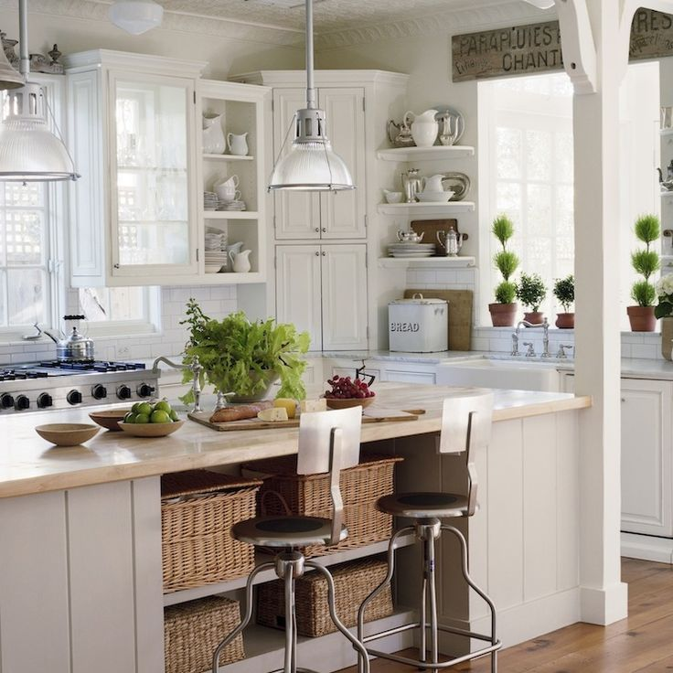 Kitchen Islands as Extra Storage