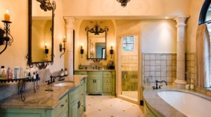 25 Inspirational Mediterranean Bathroom Design Ideas