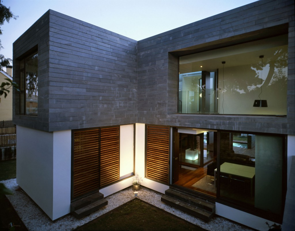 Minimalist Modern Design Of The Modern Exterior Walls