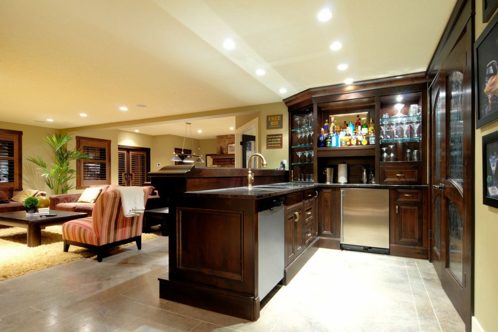 Modern basement ideas