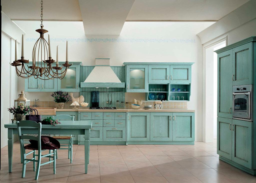 Classic painted wood kitchen