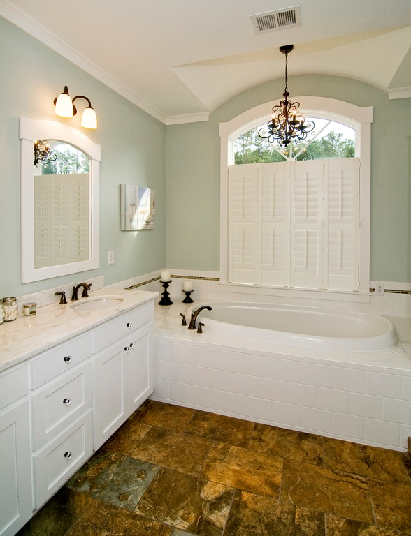craftsman-master-bathroom-with-walk-in-shower-walk-in-closet